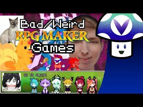 [Vinesauce] Vinny - Weird/Bad RPGMaker Games