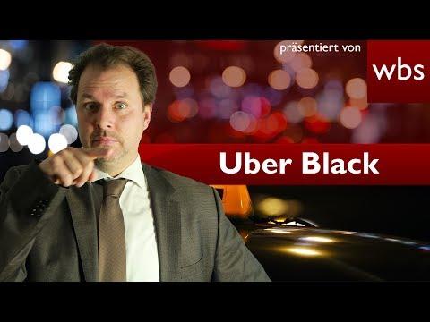 Das Aus für UBER in Deutschland? - Jetzt geht es vor den EuGH | Rechtsanwalt Christian Solmecke
