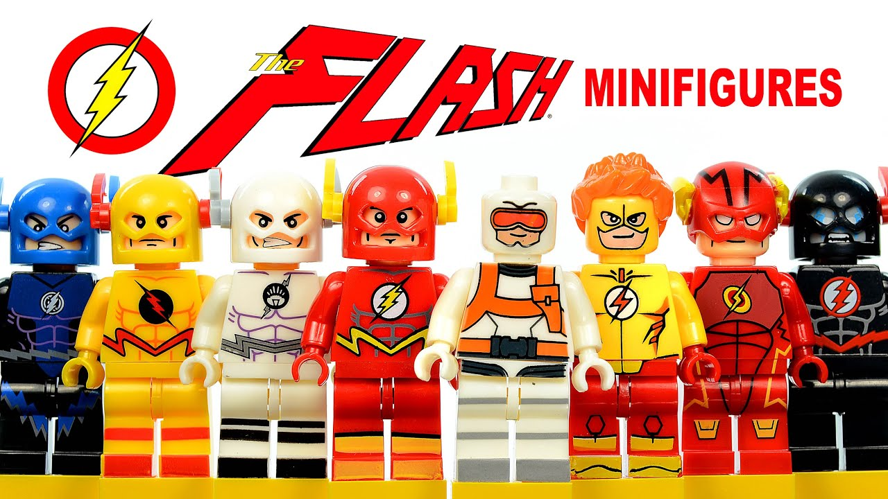 The Flash DC Superheroes CW TV series LEGO KnockOff ...