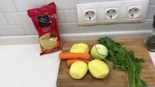 Куриный суп(очень простой рецепт)