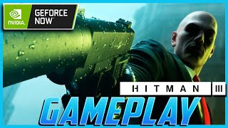 Hitman 3 GeForce NOW Gameplay - Complete Dubai Mission