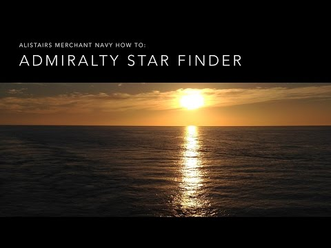 How To Use the Admiralty Star Finder NP323