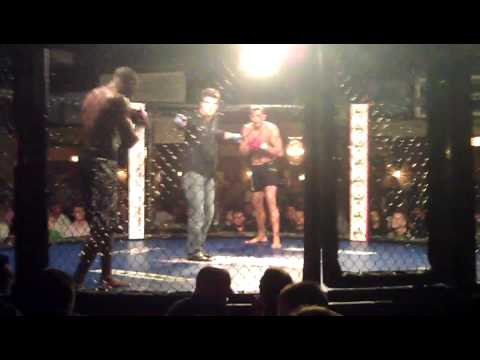 Steve Matthews 3rd MMA fight 9/30/11