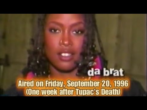 Da Brat speaks on Tupac Shakur's recent death (Rap City September 20, 1996)