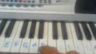 wali band - cari jodoh piano
