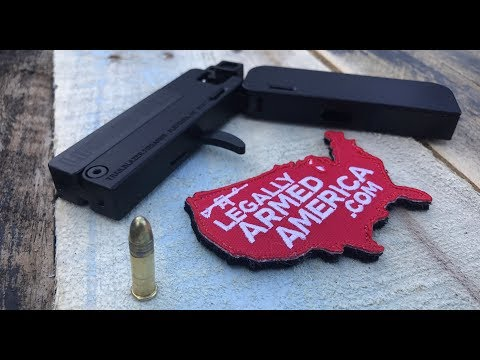 Life Card  .22 pistol can hide in plain sight