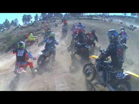 Onboard Motocross Parada do Pinhao Elite - 1º manga