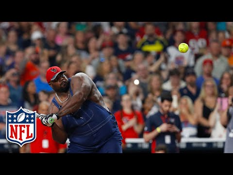 J.J. Watt Charity Softball Game Highlights | NFL
