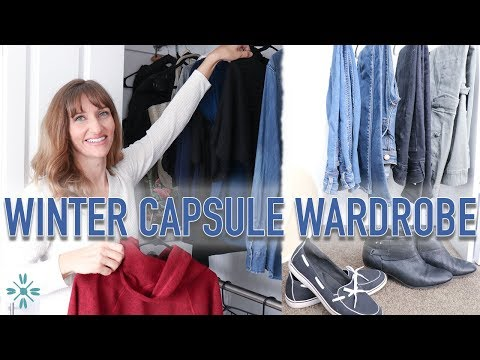 Winter Capsule Wardrobe Stay At Home MOM – Simple Living Mom