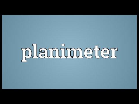 Header of planimeter