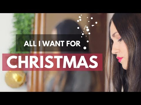 ALL I WANT FOR CHRISTMAS - CAROLINA GARCÍA Y SERGIO LÓPEZ COVER