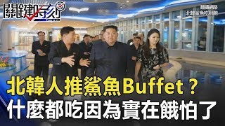 要北韓人過好日子推鯊魚Buffet? 什麼東西都吃因為實在餓怕了! 關鍵時刻 20180730-2 黃世聰 王瑞德 黃創夏