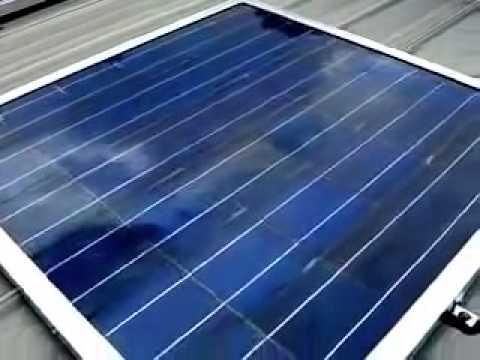 Installing Solar Panels Roof   YouTube