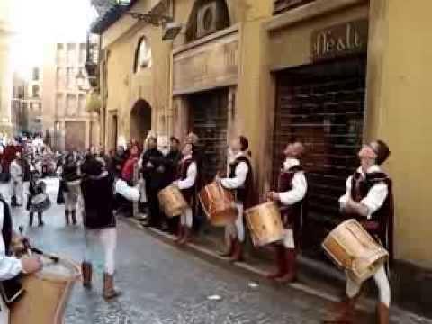 Musici e Sbandieratori ad Agrigento