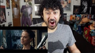 TOMB RAIDER - Official TRAILER #1 REACTION & REVIEW!!!