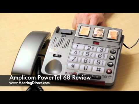 Amplicom PowerTel 68 Review By HearingDirect.com