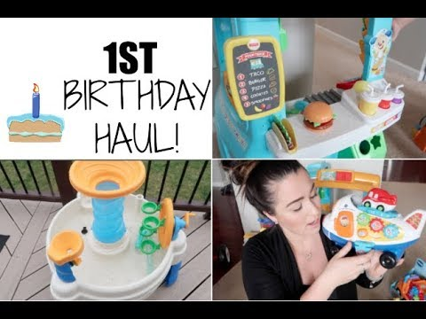 1ST BIRTHDAY GIFT HAUL // BIRTHDAY GIFT IDEAS  2018 // MAMA APPROVED