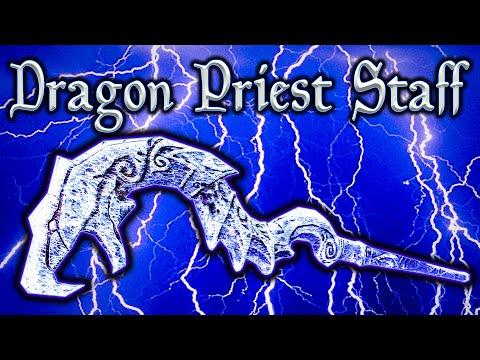 Skyrim SE - Dragon Priest Staff - SECRET Weapon Guide thumbnail