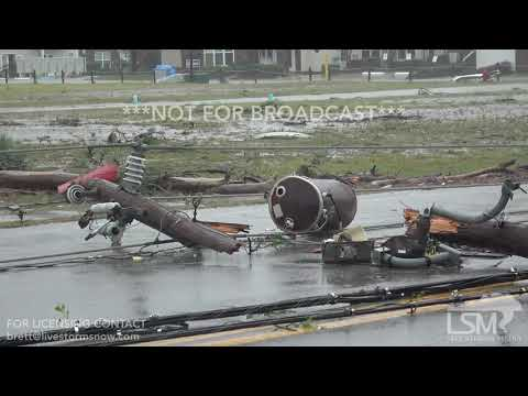 10 10 2018 Panama City Beach, FL Post Storm First Look At Damage.mp4