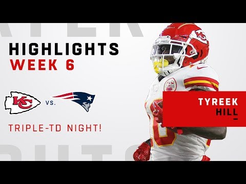 Tyreek Hill Racks Up 142 Receiving Yards & 3 TDs!