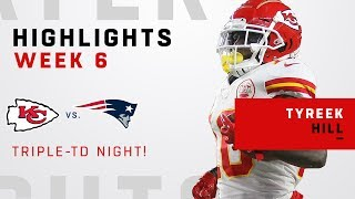 Tyreek Hill Racks Up 142 Receiving Yards & 3 TDs!