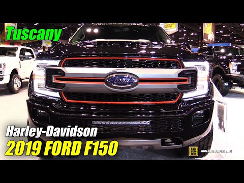 2019 Ford F150 Harley Davidson by Tuscany - Exterior Interior Walkaround - 2019 Chicago Auto Show