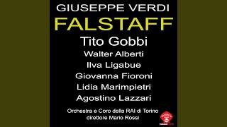 Falstaff: Atto primo parte prima