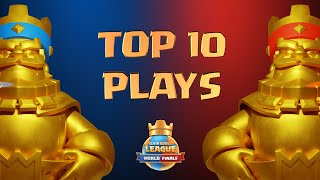 Top 10 Plays of the 2020 Clash Royale League World Finals!