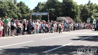 Парад на День города в Полоцке