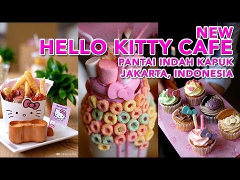 HELLO KITTY CAFE Pantai Indah Kapuk Jakarta, Indonesia - ANAKJAJAN.COM