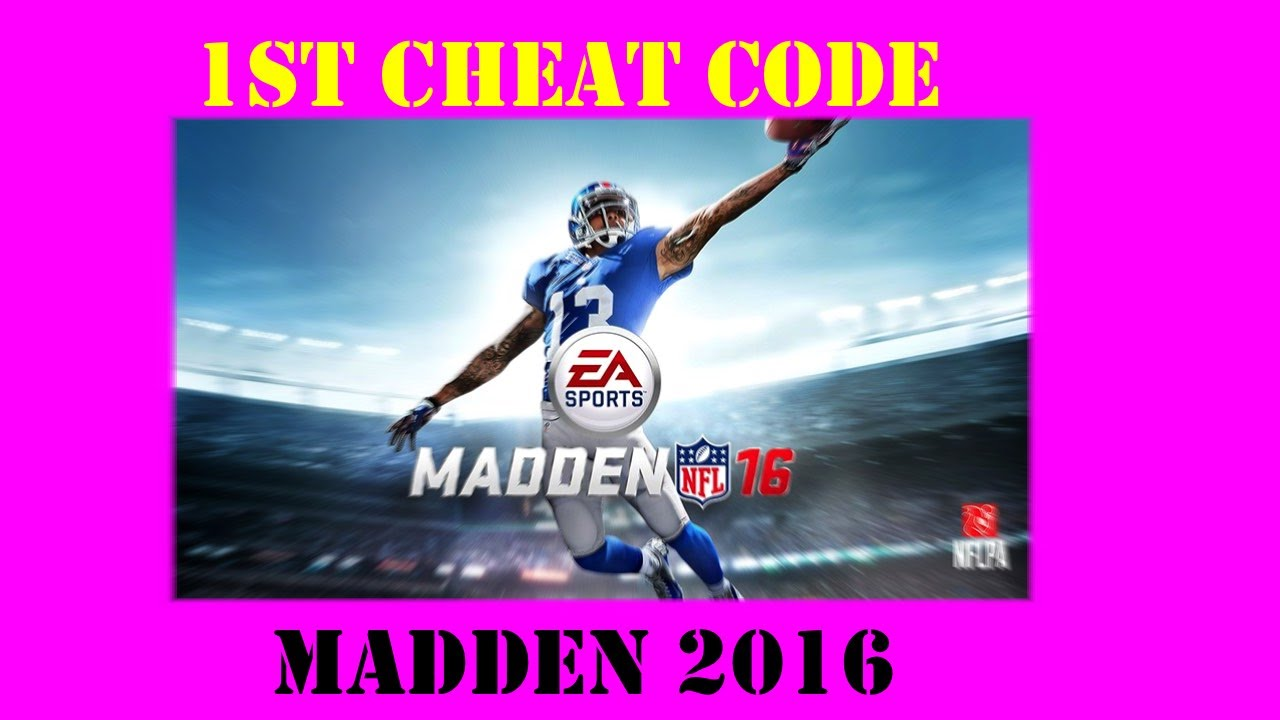 <b>Madden 16</b> First <b>Cheat Code</b>! - YouTube