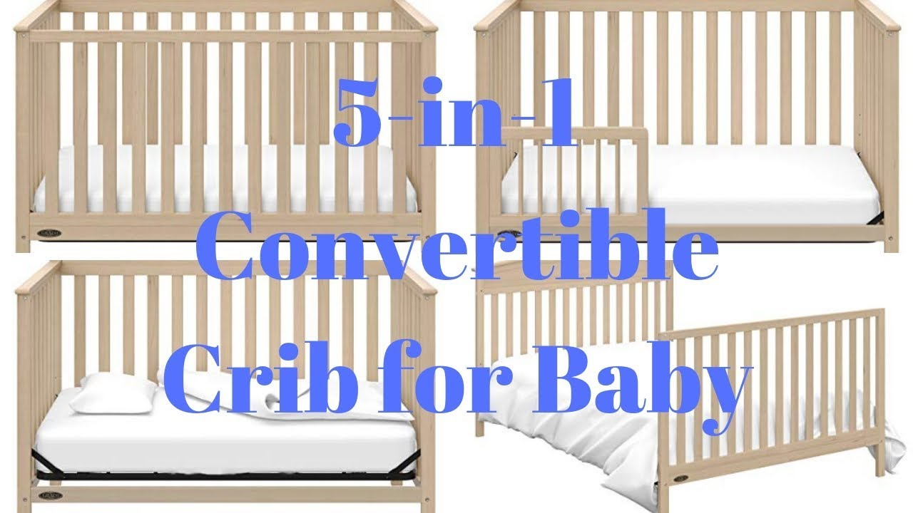 5 In 1 Convertible Baby Crib Best Baby Crib Youtube