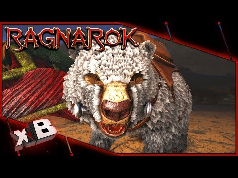 DIRE POLAR BEAR TAME! :: ARK: Ragnarok Evolved :: Ep 34