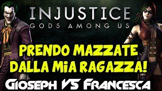 vuclip Gioseph VS Francesca: Prendo le MAZZATE dalla Mia Ragazza! [Injustice #1] By GiosephTheGamer