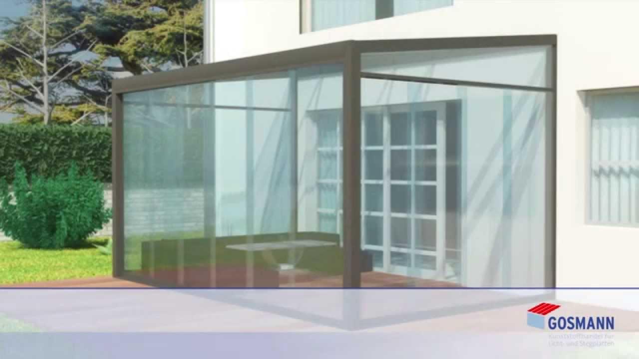 Montagevideo Für Glasschiebewände Der Firma Kunststoffhandel Gosmann
