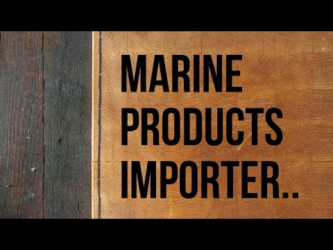 Marine products importer