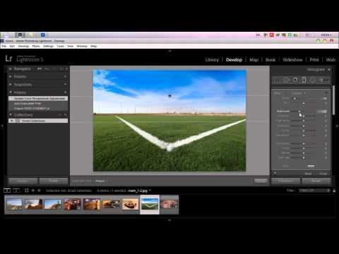 المحاضره الثالثة :: Adobe Lightroom 5