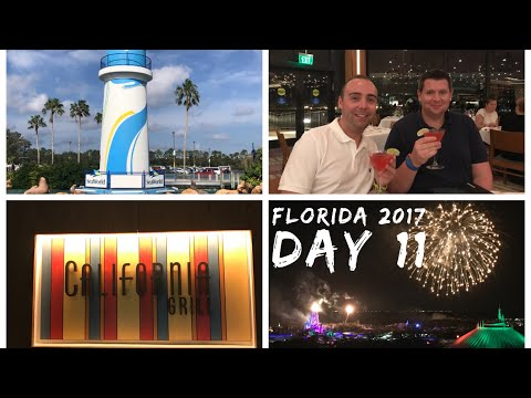 Walt Disney World & Florida 2017 Vlog  October 2017  Day 11  Sea World And California Grill