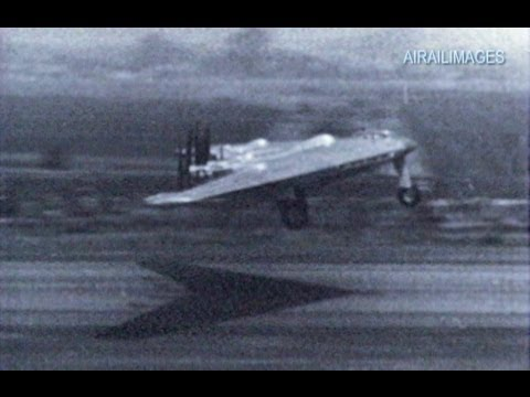 XB-35 Flying Wing and XB-36 Film Clips