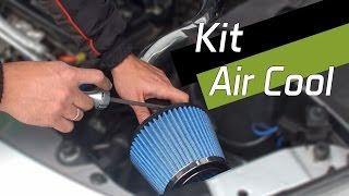 Instalação do Kit Air Cool Race Chrome Peugeot 207 1.4 (Filtro de Ar Esportivo)