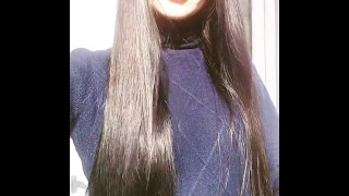 Блестящие волосы без силиконов.