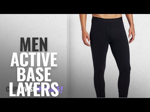 Columbia Active Base Layers [ Winter 2018 ]: Columbia Men's Midweight Base Layer Tights-Black-Medium