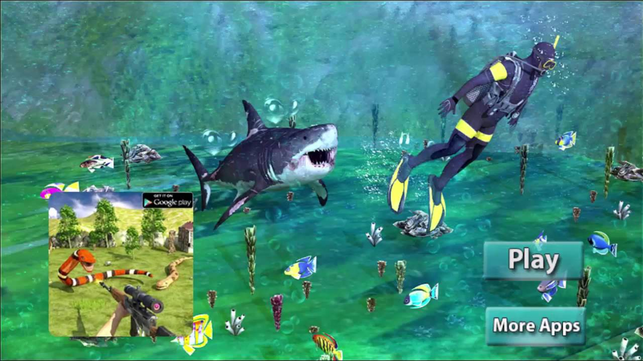 Shark Hunting Deep Dive - Shooting With Sharks - Hunting Game ...