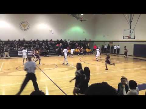 Marcus Redrick #4 - Miller Career Academy JV Sophomore Highlights