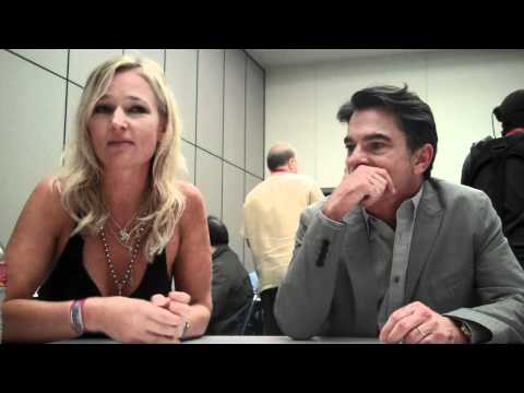 Peter Gallagher And Kari Matchett Chat 'Cover Affairs' At Comic Con