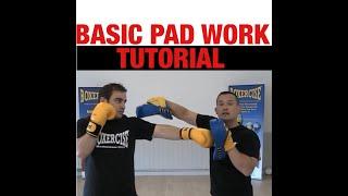 Boxercise Boxing Techniques - Pad Work