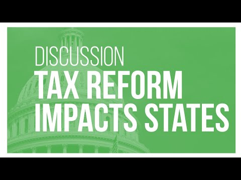 Talking Tax Reform: Federal Tax Reform: The Impact on States