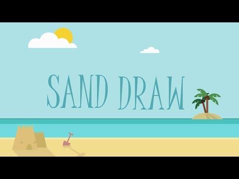 sand draw sketch drawing