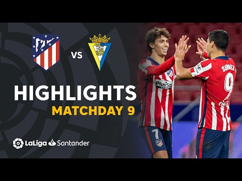Atletico Madrid Cadiz Goals And Highlights