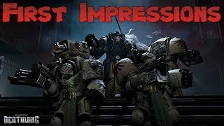 Space Hulk deathwing First Impressions!